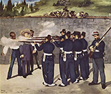 The Execution of the Emperor Maximilian 1867 - Edouard Manet