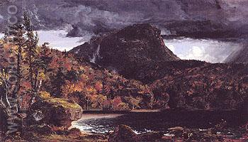 High Toone Mountain Rockland County New York 1850 - Jasper Francis Cropsey reproduction oil painting