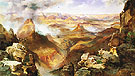 Grand Canyon of the Colorado 1892 - Thomas Moran reproduction oil painting