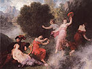 Scene from Tannhauser 1864 - I Fantin-latour reproduction oil painting