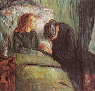 The Sick Child 1907 - Edvard Munch
