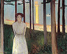Summer Nights Dream The Voice 1893 - Edvard Munch