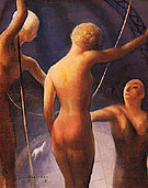 Trapeze Performers 1931 - Guy Pene du Bois