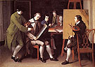 The American School 1765 - Matthew Pratt reproduction oil painting