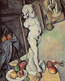 Still Life with Plaster Cupid c1895 - Paul Cezanne