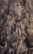 Violin and Pitcher 1910 - Georges Braque
