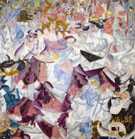 Dynamic Hieroglyph of the Bal Tabarin 1912 - Gino Severini