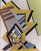 Abstract Composition 1915 - Edward Wadsworth
