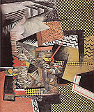 Chinese Restaurant 1915 - Max Weber reproduction oil painting