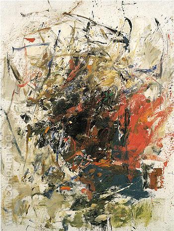 Charetiere 1960 - Joan Mitchell reproduction oil painting