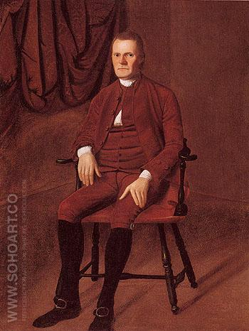 Roger Sherman c1775 - Ralph Earl reproduction oil painting