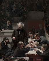 The Gross Clinic 1875 - Thomas Eakins