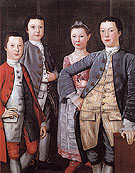 The Rapalje Children c1768 - John Durand