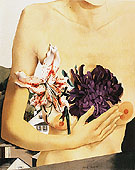 Flower and Torso 1927 - Peter Blume