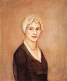 Portrait of a Young Woman possibly Mrs Hardy - Ammi Phillips