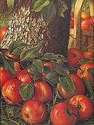 Apples Beneath a Tree 1891 - Levi Wells Prentice reproduction oil painting