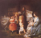 War Spirit at Home 1866 - Lilly Martin Spencer
