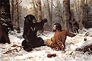 The Life of a Hunter A Tight Fix 1856 - Arthur Fitzwilliam Tait reproduction oil painting