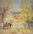 St Georges Church c1920 - Julius Gary Melchers reproduction oil painting
