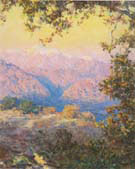 Sunset Glow Sunset in the High Sierras 1921 - Guy Rose reproduction oil painting