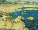 Pacific Grove Shoreline c1915 - Ernest Bruce Nelson reproduction oil painting