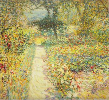The Garden 1913 - Joseph Raphael reproduction oil painting
