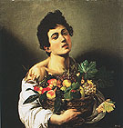 Boy with Basket of Fruit c1593 - Caravaggio