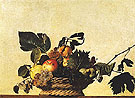 Basket of Fruit c1598 - Caravaggio