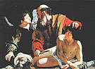 The Sacrifice of Isaac 1596 - Caravaggio
