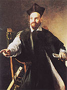 Portrait of Maffeo Barberini c1598 - Caravaggio reproduction oil painting