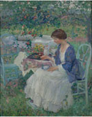A Gray Day - Richard Emil Miller reproduction oil painting