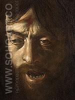 Head of Goliath c1605 - Caravaggio