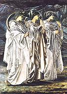 The Challenge in the Wilderness c1894 - Edward Burne-Jones