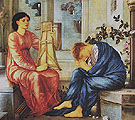 The Lament c1865 - Edward Burne-Jones