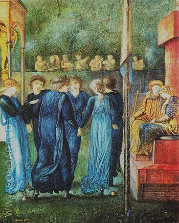 The Kings Wedding 1870 - Edward Burne-Jones reproduction oil painting