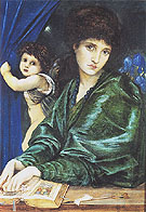 Maria Zambaco 1870 - Edward Burne-Jones reproduction oil painting