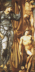 The Wheel of Fortune c1875 - Edward Burne-Jones reproduction oil painting