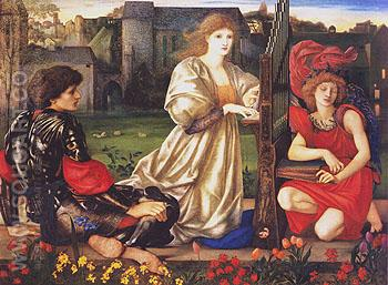 Le Chant dAmour c1868 - Edward Burne-Jones reproduction oil painting