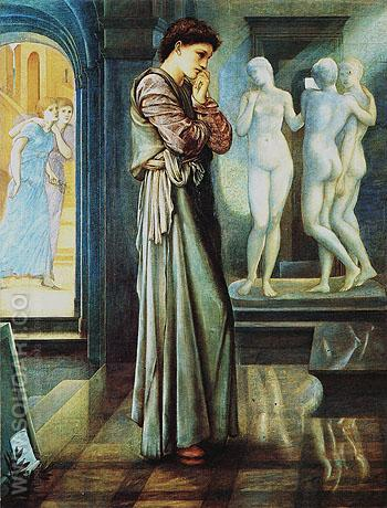 The Heart Desires - Edward Burne-Jones reproduction oil painting