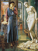 The Hand Refrains c1868 - Edward Burne-Jones