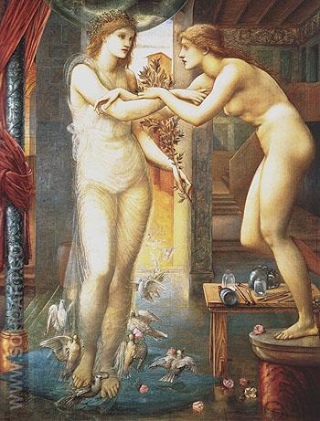 The Godhead Fires c1868 - Edward Burne-Jones reproduction oil painting