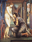 The Soul Attains c1868 - Edward Burne-Jones reproduction oil painting