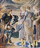 The Arming of Perseus 1877 - Edward Burne-Jones