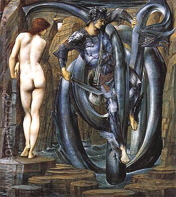 The Doom Fulfilled c1884 - Edward Burne-Jones reproduction oil painting