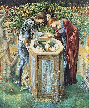 The Baleful Head 1885 - Edward Burne-Jones reproduction oil painting