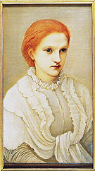 Lady Frances Balfour 1881 - Edward Burne-Jones reproduction oil painting
