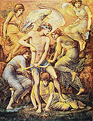 Cupids Hunting Fields 1885 - Edward Burne-Jones