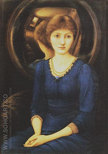 Margaret Burne Jones c1885 - Edward Burne-Jones reproduction oil painting