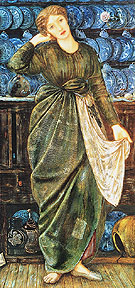Cinderella 1863 - Edward Burne-Jones