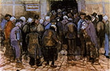 The State Lottery Office The Hague 1882 - Vincent van Gogh reproduction oil painting